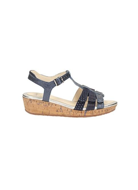 Clarks Sandalet Lacivert
